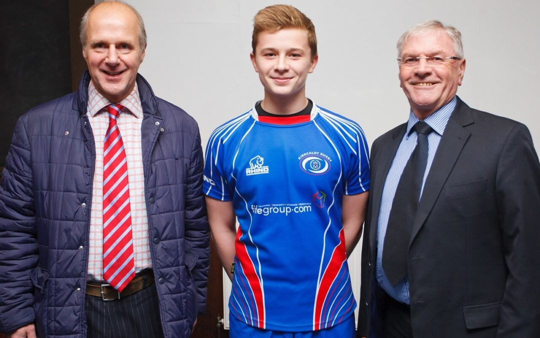 Fife Group sponsorship of Kirkcaldy Rugby Club Colts and Junior Elite Academy